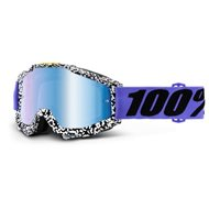 OFFER GOGGLE 100% ACCURI BRENTWOOD - MIRROR BLUE LENS
