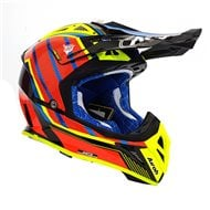 OUTLET CASCO AIROH AVIATOR 2.3 GLOW 2020 COLOR NARANJA CROMO