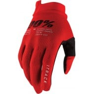 GUANTES 100% ITRACK 2021 COLOR ROJO