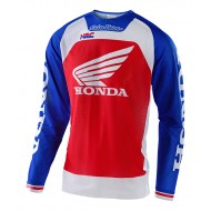 TROY LEE SE PRO AIR BOLDOR HONDA JERSEY 2021 BLUE / RED COLOUR