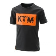 OUTLET CAMISETA INFANTIL KTM LOGO RADICAL COLOR NEGRO