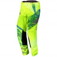 OFFER SCOTT PANT 350 RACE YOUTH COLOUR YELLOW/BLUE - SIZE 24 USA
