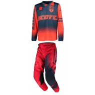 OFFER COMBO SCOTT 350 RACE YOUTH COLOUR RED/BLUE- SIZE 26 USA / L INF