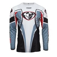 THOR PULSE HAZRD JERSEY 2021 RED / WHITE COLOUR
