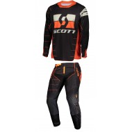 COMBO SCOTT ENDURO COLOR NEGRO/NARANJA