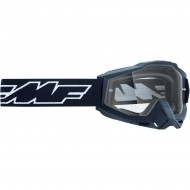 100% FMF ROCKET GOGGLES 2021 YOUTH BLACK COLOUR - CLEAR LENS