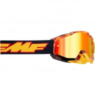 YOUTH 100% FMF SPARK GOGGLES 2021 - RED MIRROR LENS