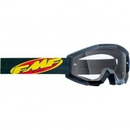 YOUTH 100% FMF CORE GOGGLES 2021 BLACK COLOUR - CLEAR LENS