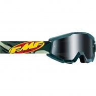 100% FMF ASSAULT GOGGLES 2021 CAMOUFLAGE COLOUR - SILVER MIRROR LENS