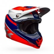 BELL MOTO-9 MIPS PROPHECY COLOUR RED / NAVY / GRAY GLOSS