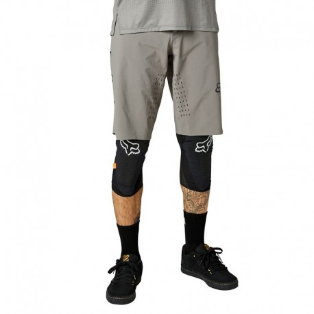 PANTALÓN CORTO BICICLETA FOX FLEXAIR COLOR GRIS