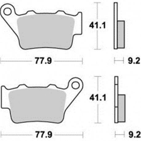 PASTILLAS DE FRENO TRASERAS MOTO-MASTER KTM EXC 450/525 RACING (2003)