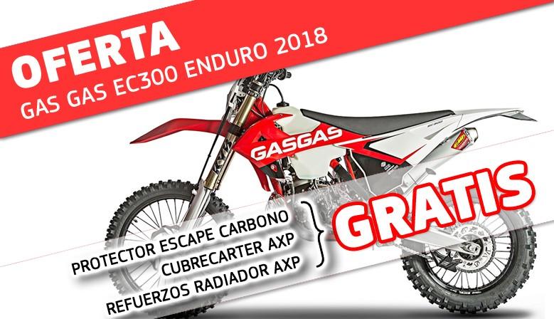 OFERTA GAS GAS ENDURO EC300 2018